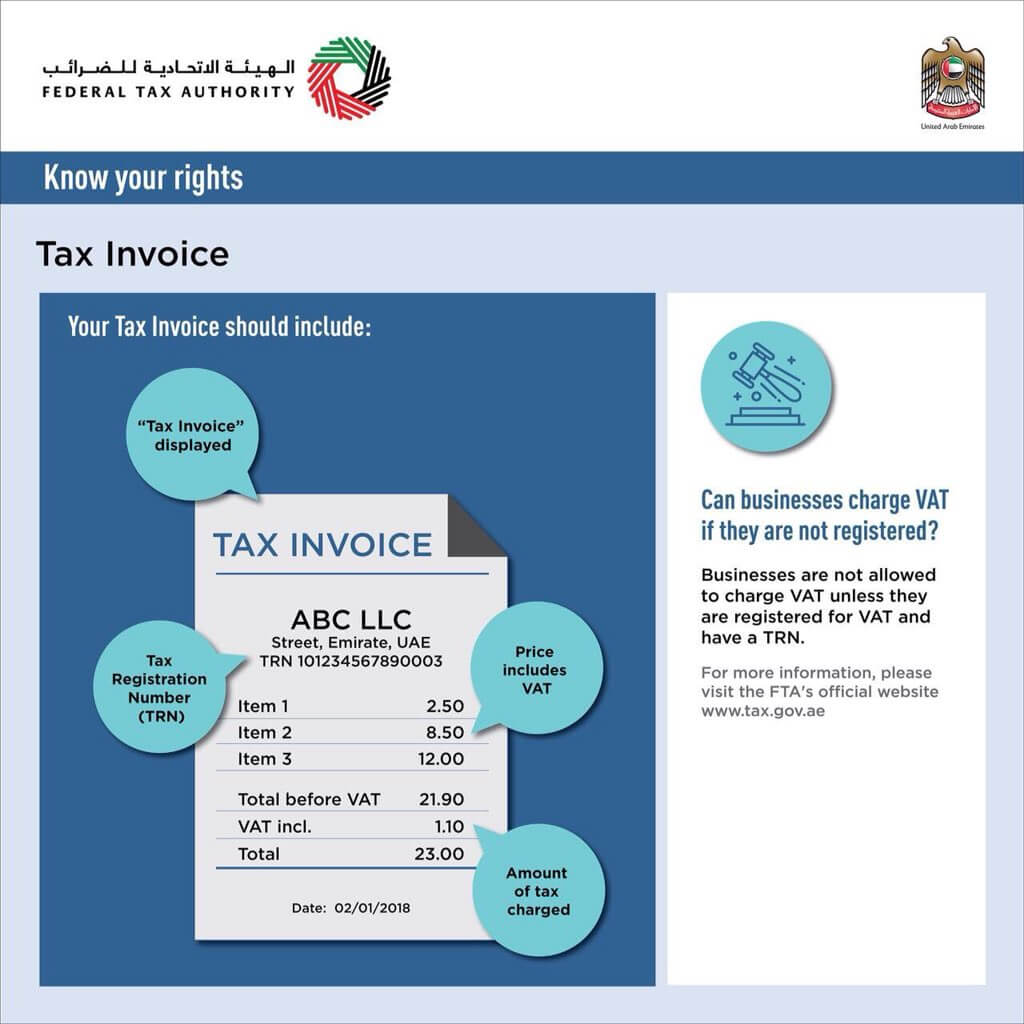 How to prepare VAT invoices in UAE