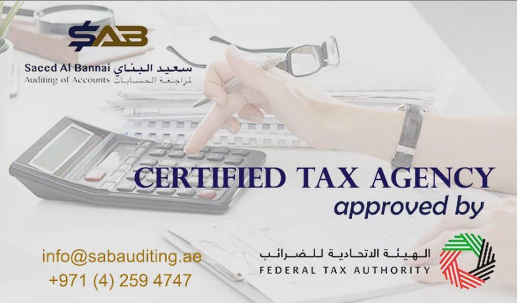 Tax Agent services in Dubai