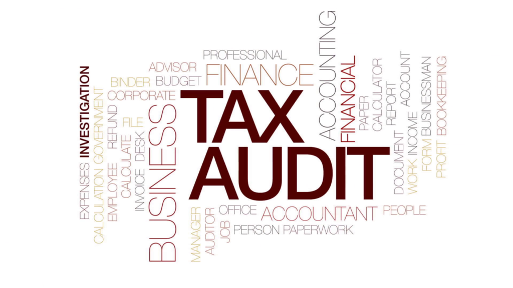 Tax Audit starts in 2019