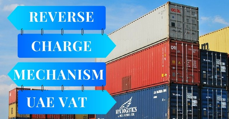 UAE VAT reverse charge mechanism